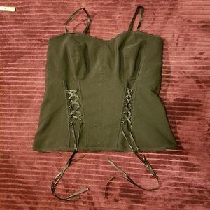 BOGO MXM beautiful corset tank top size X